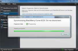 BlackBerry Desktop Software 7