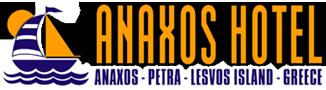 ANAXOS Hotel at Anaxos Petra Lesvos Island Greece logo